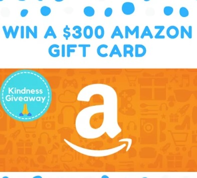 Kindness App Giveaway - Stand To Win A $300 Amazon Gift Card