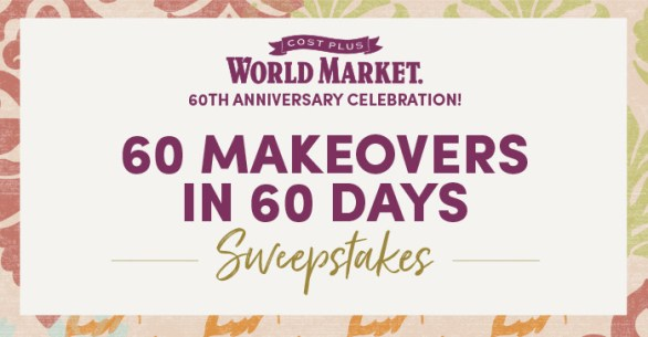 World Market Sweepstakes - Enter To Win A Tiny House And Gift Card