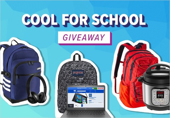 The Smart Shopper Cool For School Giveaway - Enter To Win Backpacks Jam-packed With The Gear