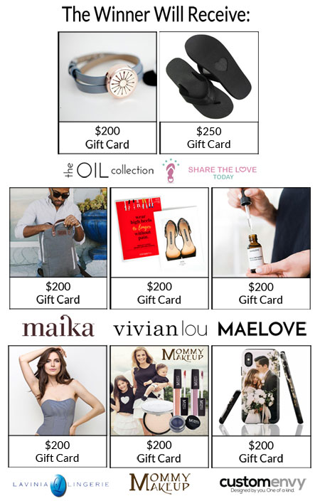 Go Brand Win Fashion & Beauty Giveaway - Enter To Win Over $1600 In Gift Cards
