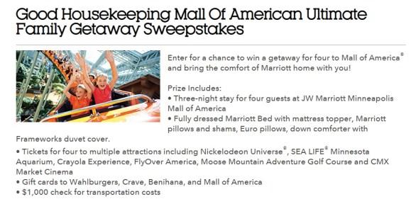 Good-Housekeeping-Mall-Of-America-Getaway-Sweepstakes