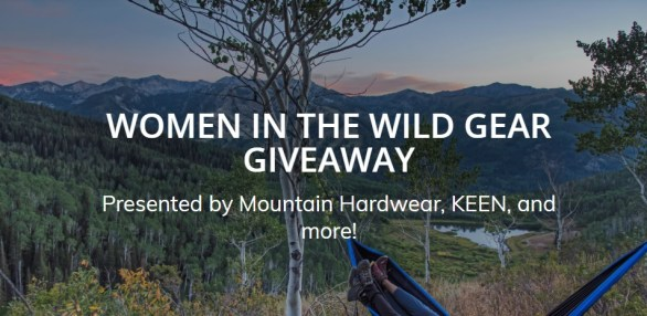 Outdoor-Project-Women-In-The-Wild-Gear-Giveaway