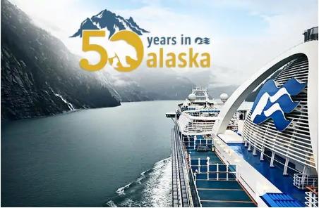Princess Cruises 50 Years Sailing North To Alaska Sweepstakes - Enter To Win Alaska Cruise Trip