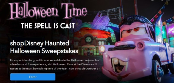 ShopDisney-Haunted-Halloween-Sweepstakes