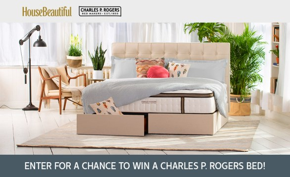 House Beautiful Sweepstakes - Enter To Win Charles P. Rogers Bed