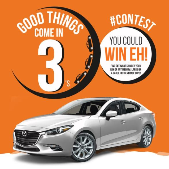 Country Style Good Things Come in 3 Contest - Chance To Win 1 of 3 Mazda