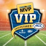 2018 Food Lion MVP VIP Sweepstakes – Win Two Tickets Prize