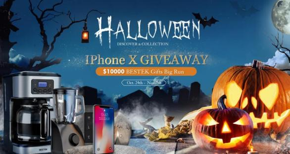 Bestek Halloween iPhone X Giveaway
