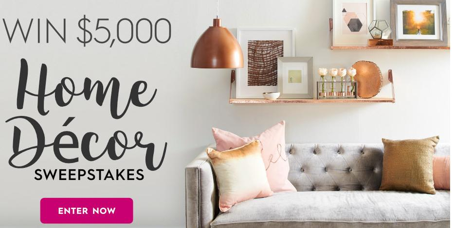 Better Homes And Gardens Sweepstakes >> Better Homes And Gardens 5 000 Fall Winter Sweepstakes