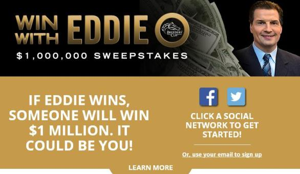 Breeders' Cup Win With Eddie O Sweepstakes – Win $1,000,000 Prize