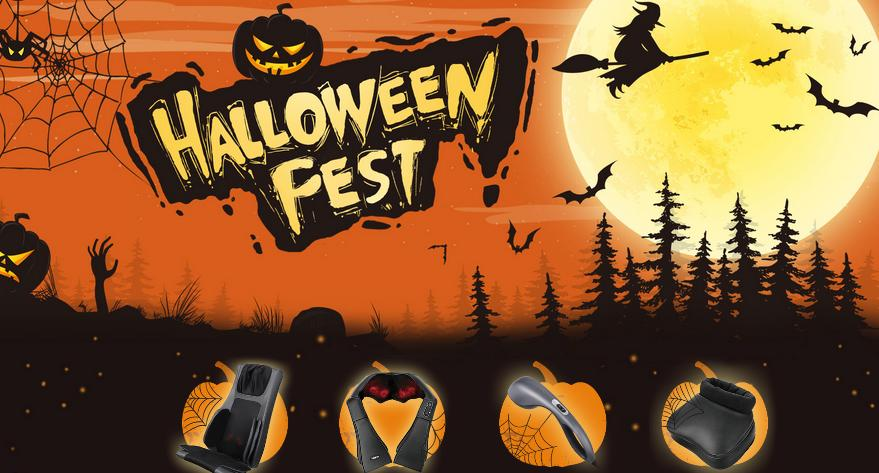 NAIPO Halloween Fest Contest – Win Naipo Neck & Back Massager