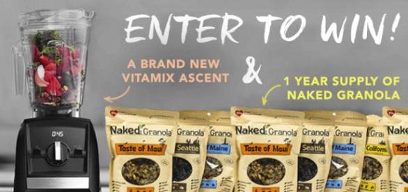 Naked Granola Vitamix & More Giveaway – Win New Vitamix Ascent