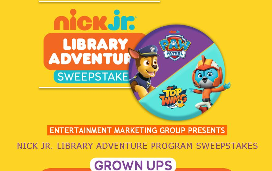 Nick Jr.'S Library Adventure Program Sweepstakes – Win A Trip To Punta Cana