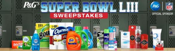 P&G Super Bowl LIII Sweepstakes