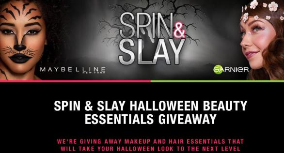 Spin & Slay Halloween Beauty Essentials Giveaway – Win Maybelline Halloween kits