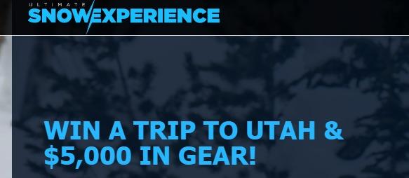 Summit Sports Ski Trip to Utah Sweepstakes - Enter To Win A Trip To Park City Utah