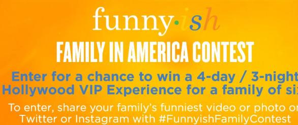 The Funny-ish Family In America Contest