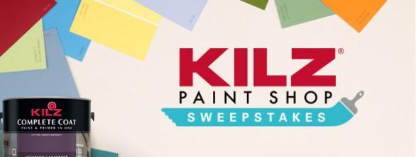 The KILZ Paint Shop Sweepstakes