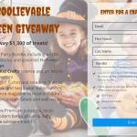 The UnBOOlievable Halloween Giveaway – Win Halloween Party Bundle