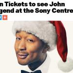 kiss92.5 Tickets To See John Legend Contest – Win Tickets Prize