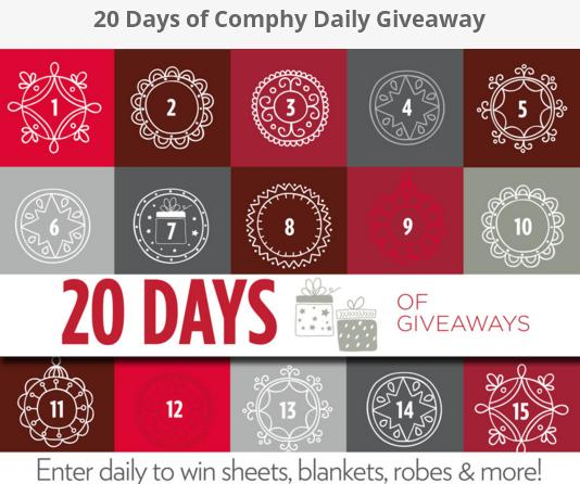 20 Days of Comphy Daily Giveaway
