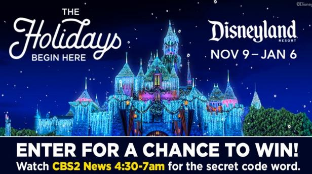 KABC-TV Tickets To Disneyland Resort Holiday Sweepstakes – Win Tickets Prize