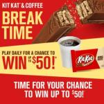 Kit Kat Break Time Instant Win Game