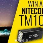 NITECORE TM10K Flashlight Giveaway