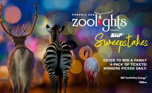 The ZooLights Sweepstakes