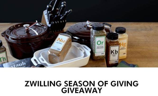 Zwilling Season Of Giving Giveaway