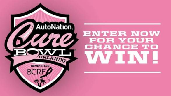 Autonation Cure Bowl Game Package Contest - Enter To Win Swag Bags And Sideline Seats Tickets