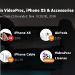 iPhone XS And Accessories With VideoProc Sweepstakes