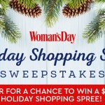 Woman's Day Holiday Cash Sweepstakes - Enter To Win $1000 Shopping Spree
