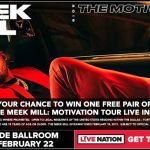 Meek Mill Sweepstakes - Chance To Win Pair Of Tickets Of Live Concert