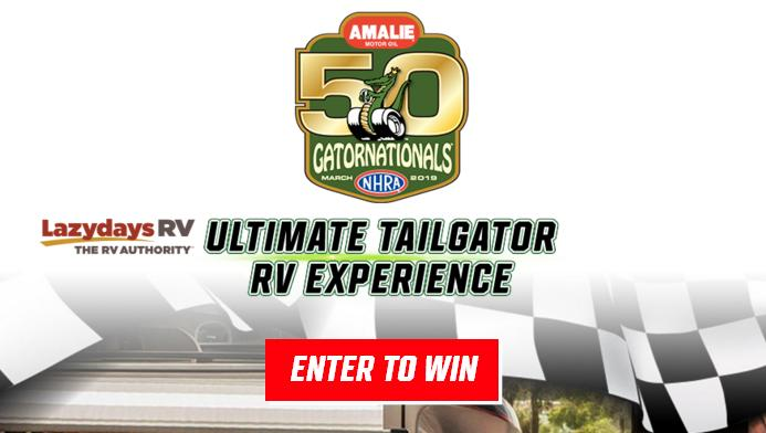 The Ultimate TAILGATOR Sweepstakes – Win Four AMALIE Suite Tickets