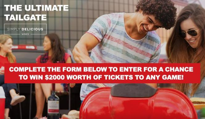 The Ultimate Tailgate With Frontera Sweepstakes