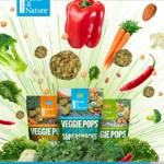 Made In Nature Veggie Pops Sampling Sweepstakes - Enter To Win 1oz Veggie Pops Salt & Pepper bag