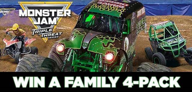 KDVR-TV Monster Jam 4 Pack Sweepstakes