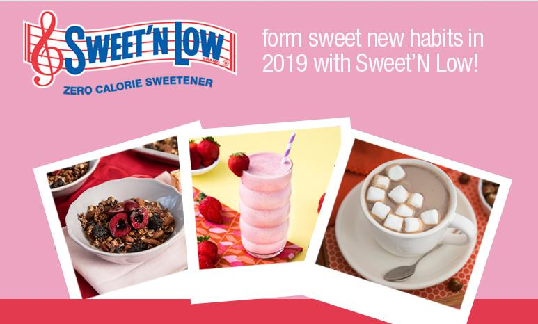 Sweet'N Low Sweet New Year 2019 Sweepstakes – Win Daily Prizes