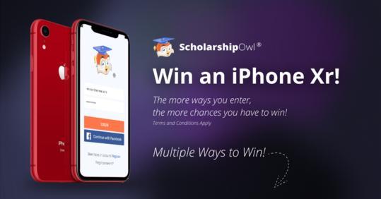 ScholarshipOwl Apple iPhone XR Giveaway - Win Apple iPhone