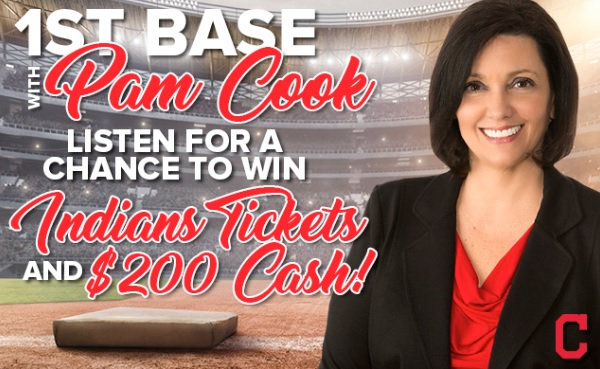 1st Base With Pam Cook Contest – Enter To Win Prize Package