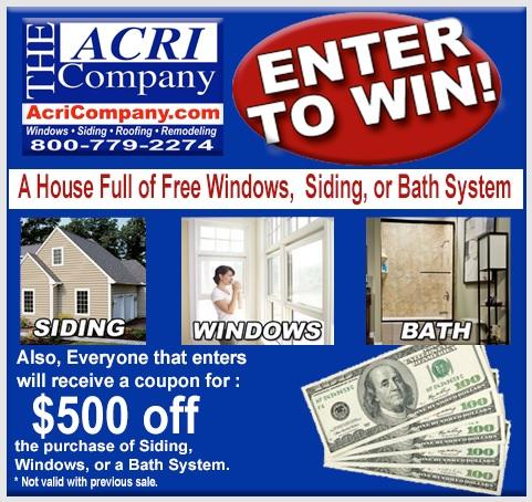 Acri Company Contest - Enter To Win House Full Of Windows - ContestBig