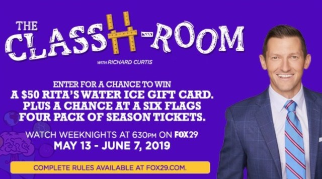 ClassH-Room Ritas And Six Flags Giveaway - Win Tickets - ContestBig