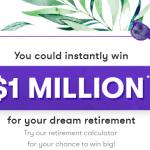 Your Million-Dollar Stash Instant Win Game - Stand To Win $1,000,000 and Gift Card