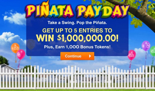 Pch com Pinata Payday Giveaway - Stand To Win $1,000,000 Cash