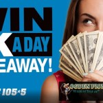 101.5 The Eagle 1K A Day Giveaway