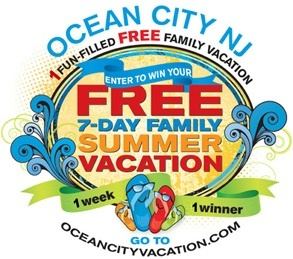 Ocean City NJ Vacation Giveaway – Win a Free Vacation to Ocean City New Jersey