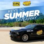 93.3 KIOA Car-X Keys To Summer Giveaway