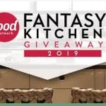 Food Network Fantasy Kitchen 2019 Giveaway