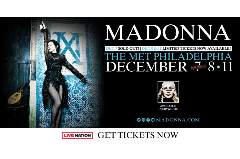 WOGL Madonna Madam X Tour Sweepstakes – Win A Pair Of Tickets